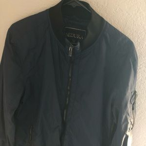 Seduka Navy Blue Bomber Jacket